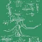 Dental Chair Patent Art Print