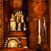 Dentist - The Dental Cabinet Art Print