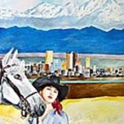 Denver 2010 Art Print