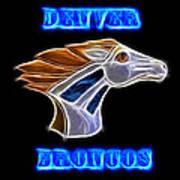 Denver Broncos 2 Art Print