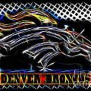 Denver Broncos 3 Art Print