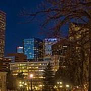 Denver Downtown Art Print
