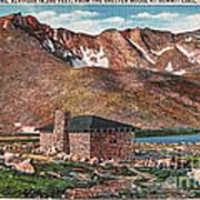 Denver Mountain Parks Antique Post Cards Art Print