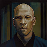 Denzel Washington In The Equalizer Painting Art Print