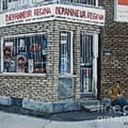 Depanneur Regina Art Print