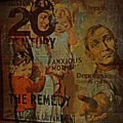 Depression In The 20th Century - 2 Art Print