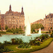 Der Deutsche Ring-cologne-the Rhine-germany -  Between 1890 And  Art Print