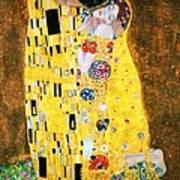 Der Kuss Or The Kiss. Art Print