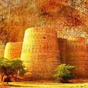 Derawar Fort Art Print by Catf