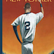 Derek Jeter Bows Out Art Print