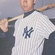 Derek Jeter New York Yankees Art Print