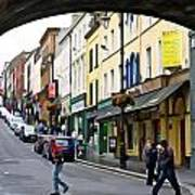 Derry Life - Irish Art By Charlie Brock Art Print