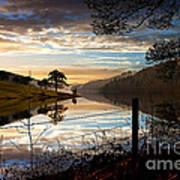 Derwent Village Reflections Art Print