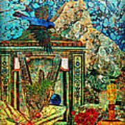 Desert Blue Art Print