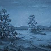 Desert Blues Art Print