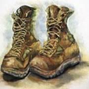 Desert Boots Art Print
