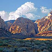 Desert Canyon Art Print