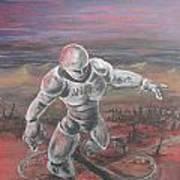 Desert Crossroads Art Print