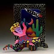 Desert Dancer Art Print