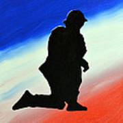 Desert Duty II Art Print