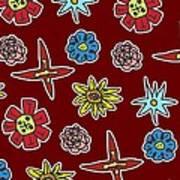 Desert Floral Art Print