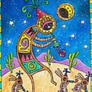 Desert Holiday Celebration Art Print