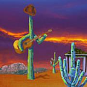 Desert Jam Art Print