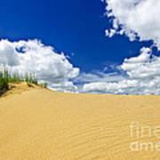 Desert Landscape In Manitoba Art Print