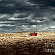 Desert Landscape Art Print by Julie Lueders