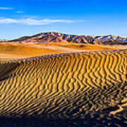 Desert Lines Print by Chad Dutson
