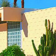 Desert Modern 7 Lakes Palm Springs Art Print