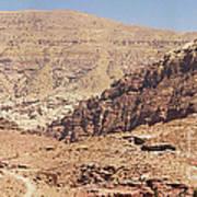Desert Of Wadi Musa Art Print
