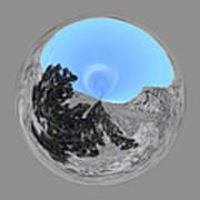 Desert Orb 2 Art Print