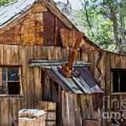 Desert Outback Farm Building Art Print