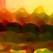 Desert Pattern 5 Art Print