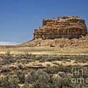 Desert Rock Formation Art Print
