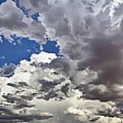 Desert Thunderstorm 1 Art Print