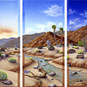 Desert Vista Large Art Print