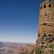 Desert Watchview Tower Grand Canyon Art Print