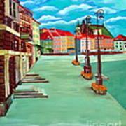 Deserted Warsaw Art Print
