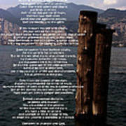 Desiderata On Lake View Art Print
