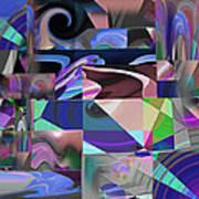 Design Square 33 Art Print