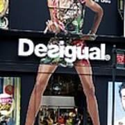 Desigual Storefront Art Print