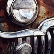 Desoto Headlight Art Print