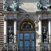 Detail City Hall Hamburg II Art Print