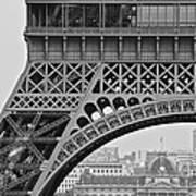 Detail Eiffel Tower Art Print