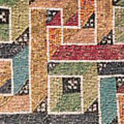Detail Of A Frieze From The Vault Art Print