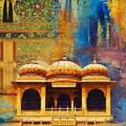 Detail Of Mohatta Palace Art Print