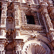 Detail Of The National Cathedral Of Guatemala Art Print
