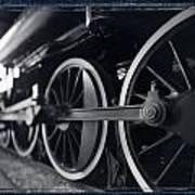 Detail Steam Engine Art Print